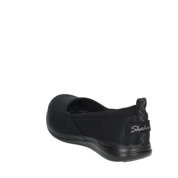 Skechers Shoes Ballet Flats Black 23717