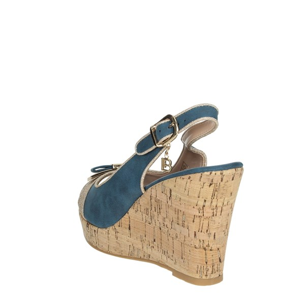 Laura Biagiotti Shoes Sandals Blue 6046