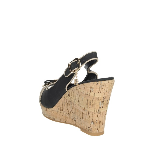 Laura Biagiotti Shoes Sandals Black 6046