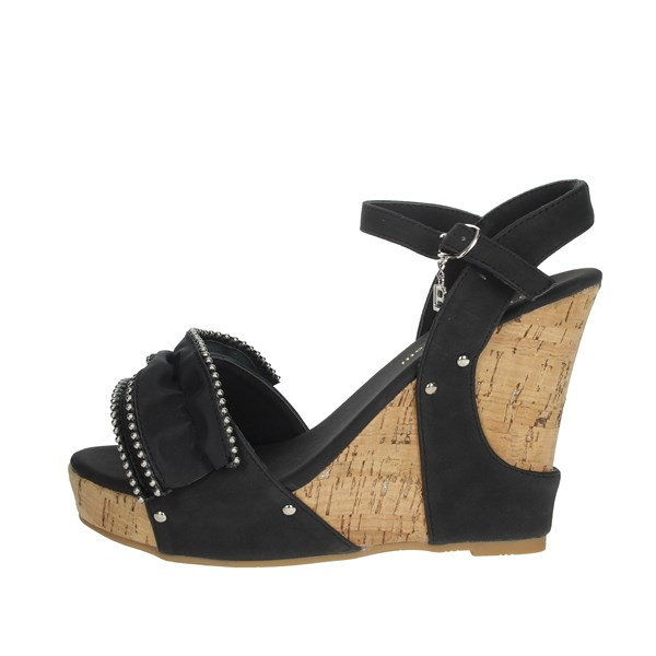 Laura Biagiotti Shoes Sandals Black 6053