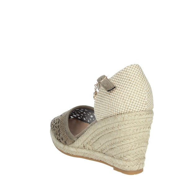 Laura Biagiotti Shoes Sandals Brown Taupe 6063