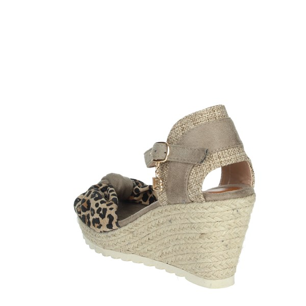 Laura Biagiotti Shoes Sandals Brown Taupe 6058