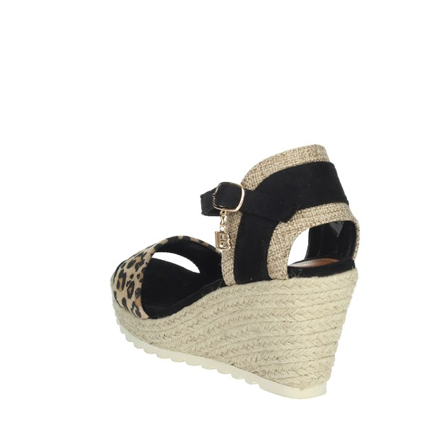 Laura Biagiotti Shoes Sandals Black 6057