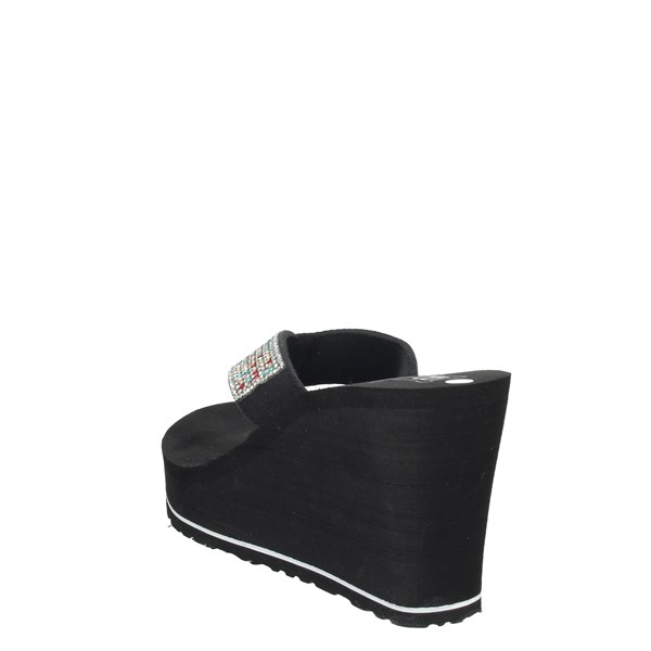 Laura Biagiotti Shoes Flip Flops Black 6253