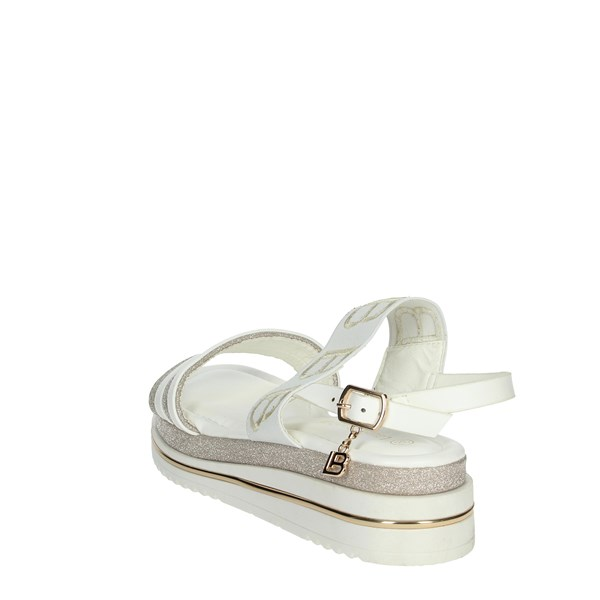 Laura Biagiotti Shoes Sandals White/Gold 6585