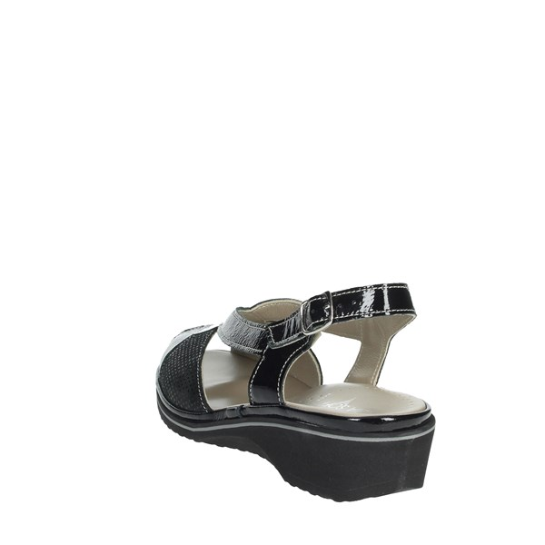 Cinzia Soft Shoes Sandals Black IPMARY