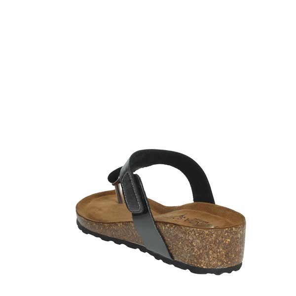 Cinzia Soft Shoes Flip Flops Charcoal grey PB985A144