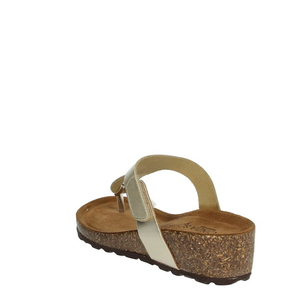 Cinzia Soft Shoes Flip Flops Platinum  PB985A144