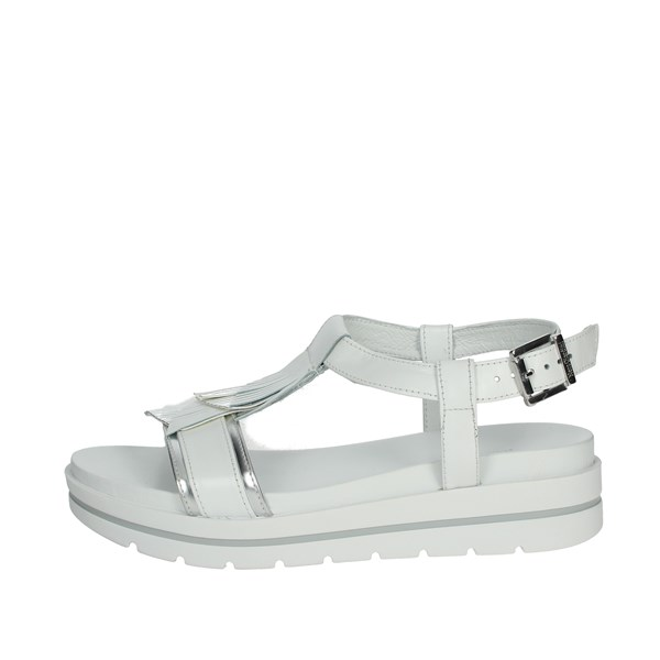 Nero Giardini Shoes Sandals White/Silver E012610D