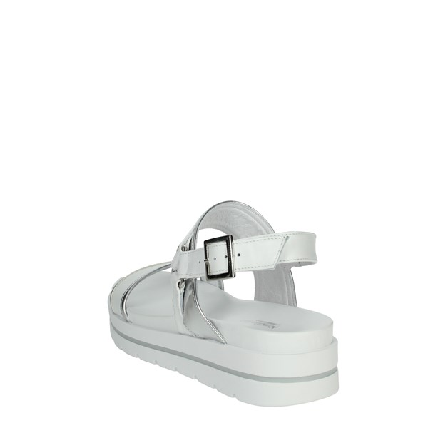 Nero Giardini Shoes Sandals White/Silver E0125611D