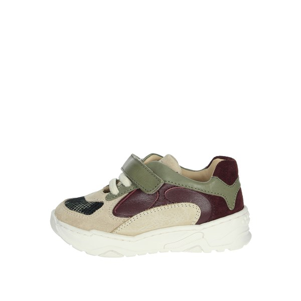 Florens Shoes Sneakers Beige/Green U5985
