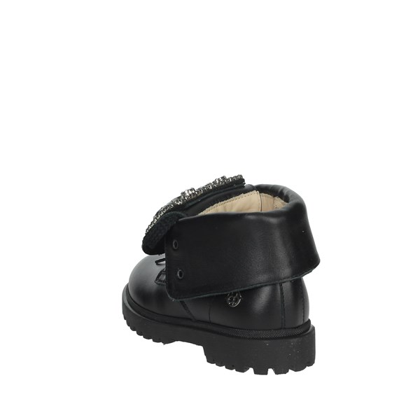 Florens Shoes Boots Black E7348