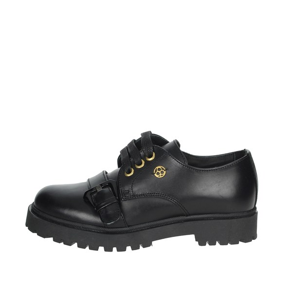 Florens Shoes Brogue Black F8343