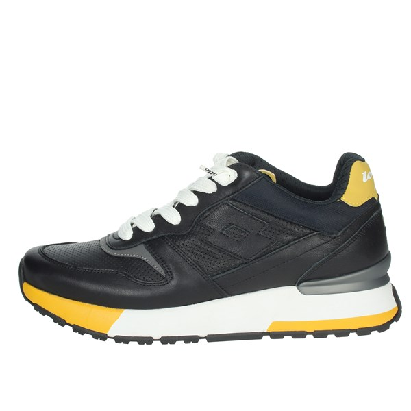 Lotto Leggenda Shoes Sneakers Black/Yellow 214027