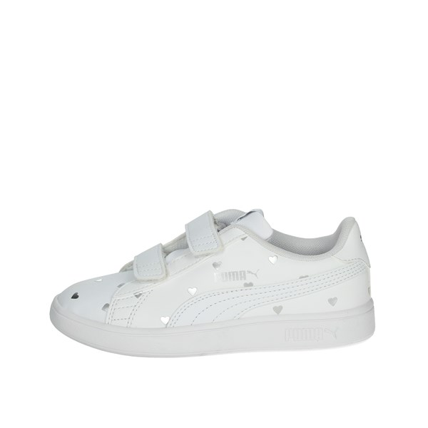 Puma Shoes Sneakers White/Silver 374844