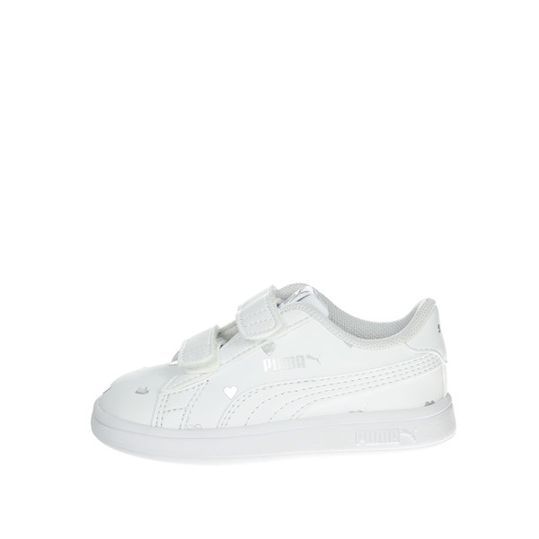 Puma Shoes Sneakers White/Silver 374845