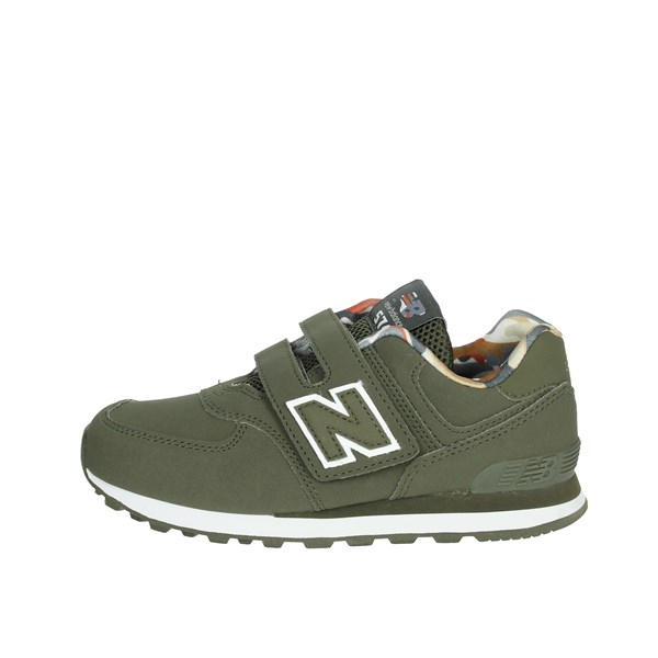 New Balance Shoes Sneakers Dark Green YV574GYL