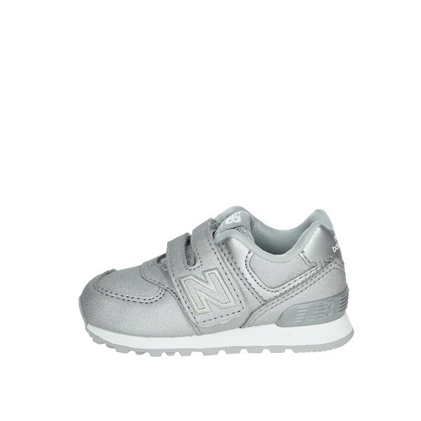 New Balance Shoes Sneakers Silver IV574KS