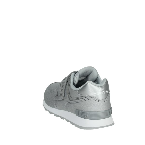 New Balance Shoes Sneakers Silver YV574KS