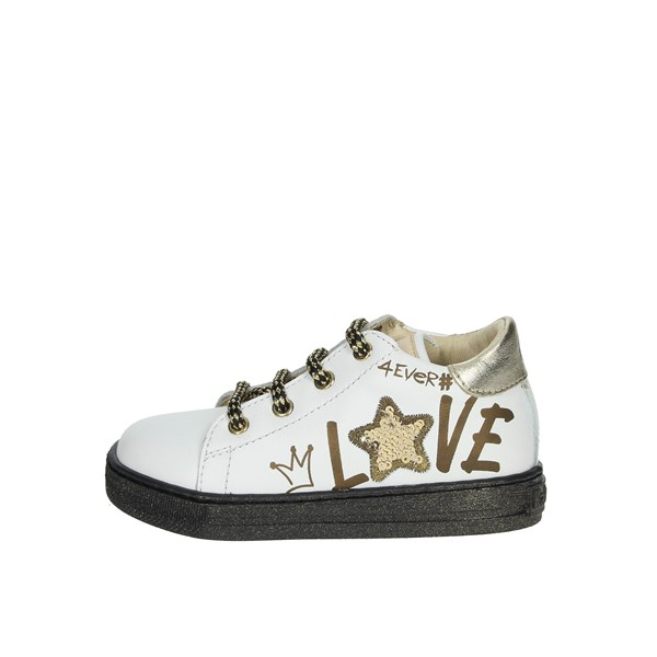 Falcotto Shoes Sneakers White/Gold 0012014214.01