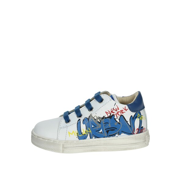 Falcotto Shoes Sneakers White/Light Blue 0012014216.01