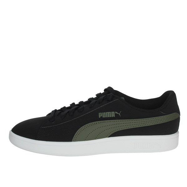 Puma Shoes Sneakers Black/Green 365160