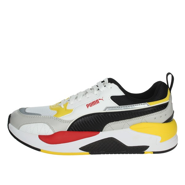 Puma Shoes Sneakers White/Black/Red 373108