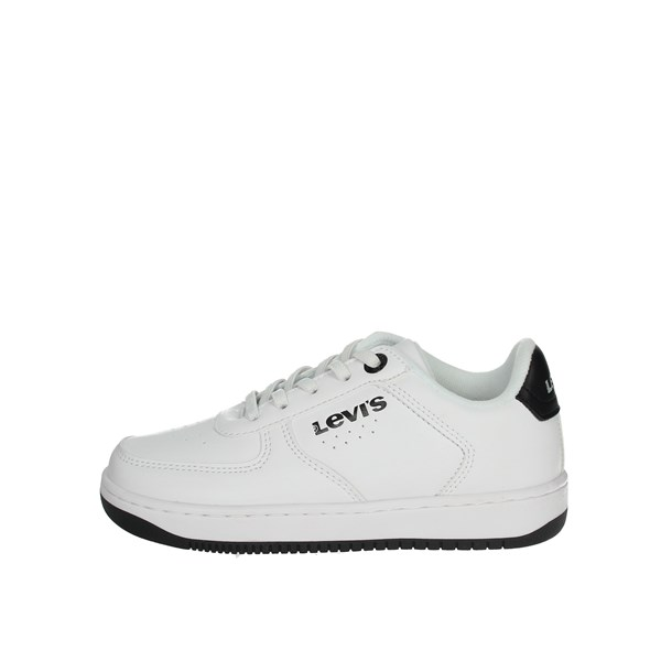 Levi's Shoes Sneakers White/Black NEW UNION