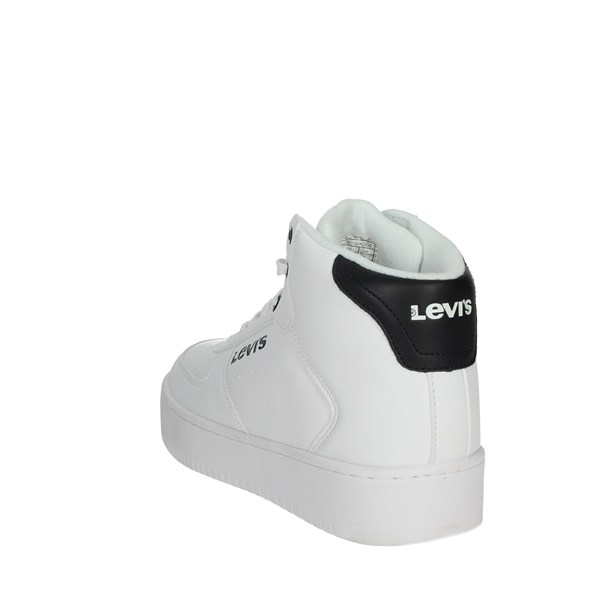 Levi's Shoes Sneakers White/Black NEW UNION MID
