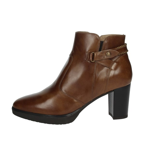 Nero Giardini Shoes Ankle Boots Brown leather IO13005D