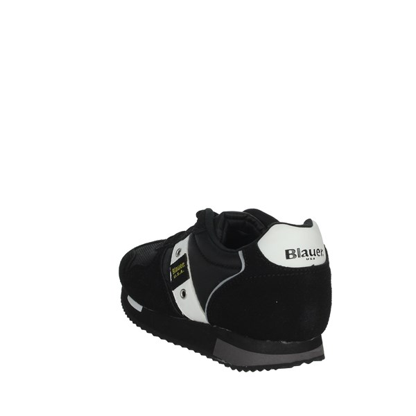 Blauer Shoes Sneakers Black/White DASH02