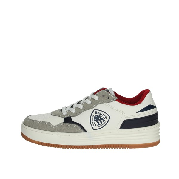 Blauer Shoes Sneakers White/Blue BART02