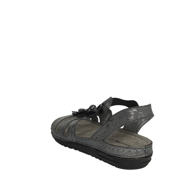 Riposella Shoes Sandals Charcoal grey 6742