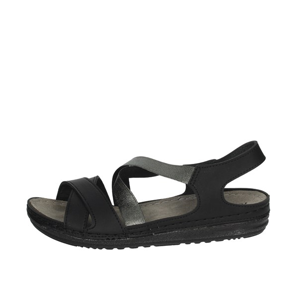 Riposella Shoes Sandals Black 6741