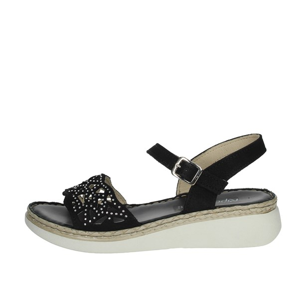 Riposella Shoes Sandals Black 16202