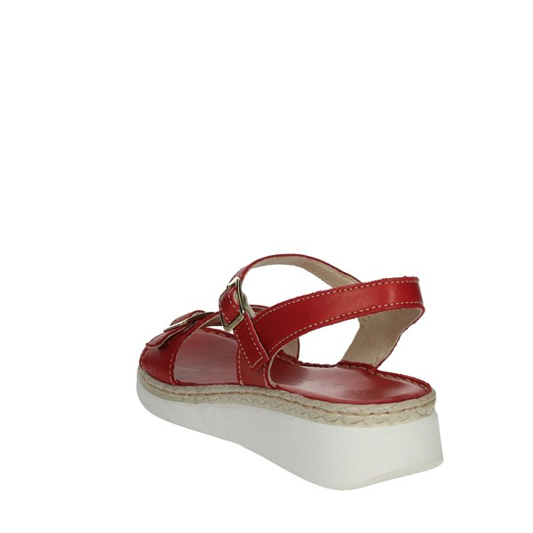 Riposella Shoes Sandals Red 16204