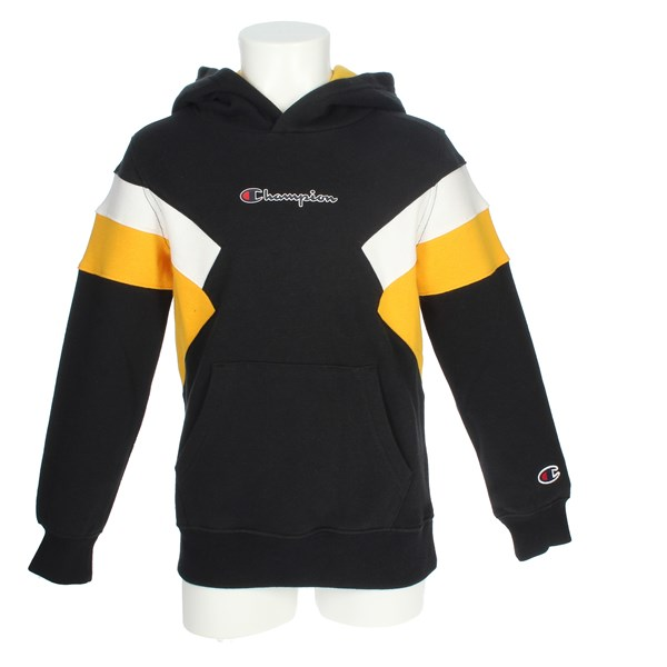 Champion Clothing Sweatshirt Black/Yellow 305540 F20
