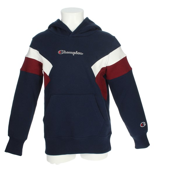 Champion Clothing Sweatshirt Blue/White 305540 F20