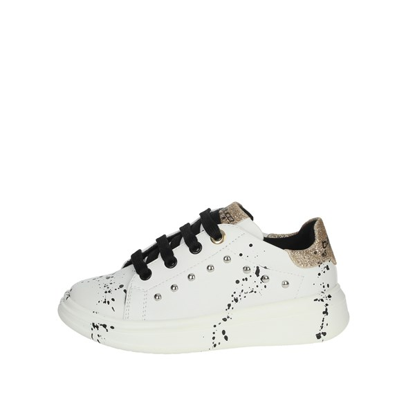 Balducci Shoes Sneakers White/Gold BS1863