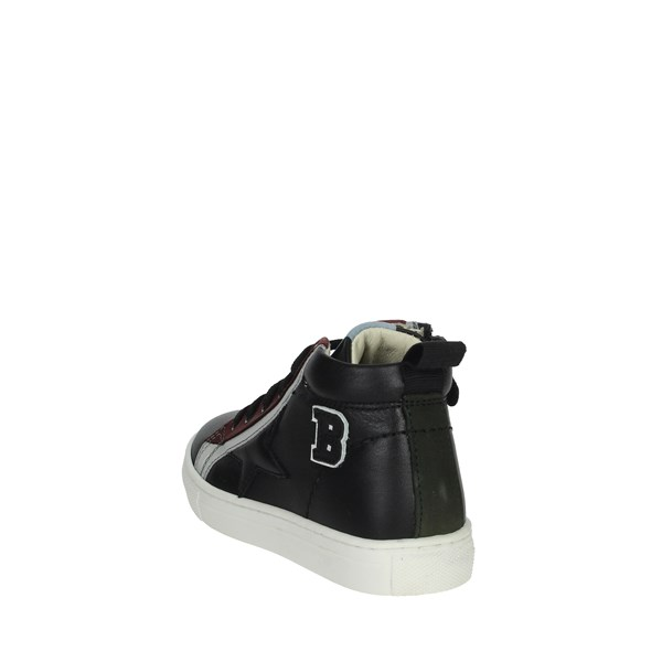 Balducci Shoes Sneakers Black/Burgundy BUTTER1608