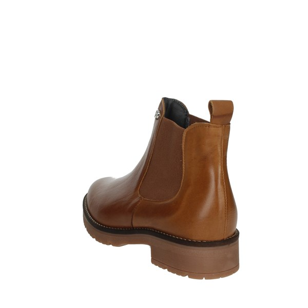 Pitillos Shoes Ankle Boots Brown leather 6432
