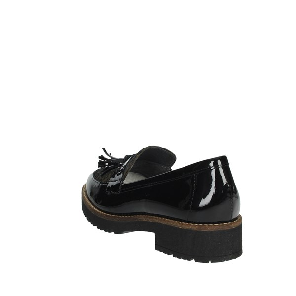 Pitillos Shoes Moccasin Black 6425