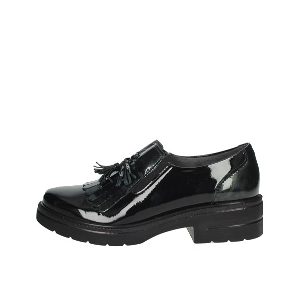 Pitillos Shoes Brogue Black 6442