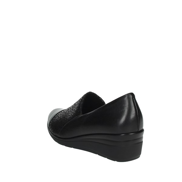 Pitillos Shoes Moccasin Black 6320