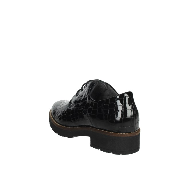 Pitillos Shoes Brogue Black 6241