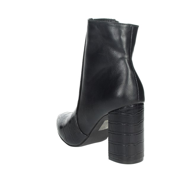 Pregunta Shoes Ankle Boots Black PFC9144