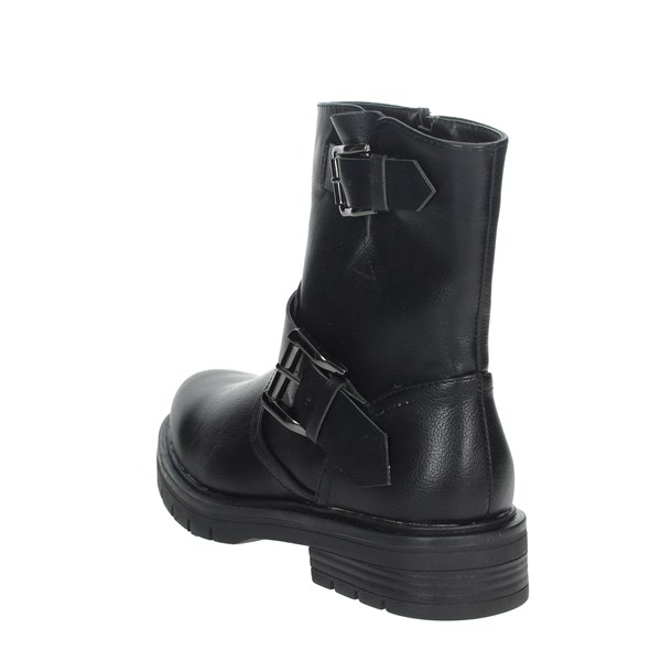 Pregunta Shoes Ankle Boots Black PFC1232