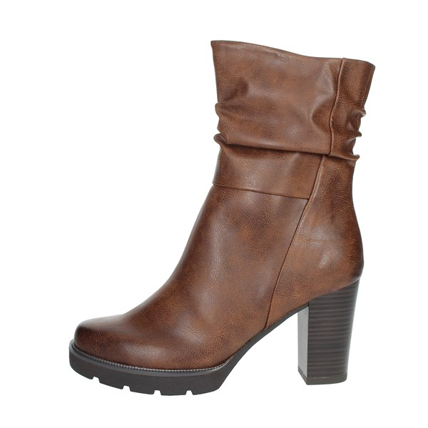 Marco Tozzi Shoes Ankle Boots Brown leather 2-25467-25