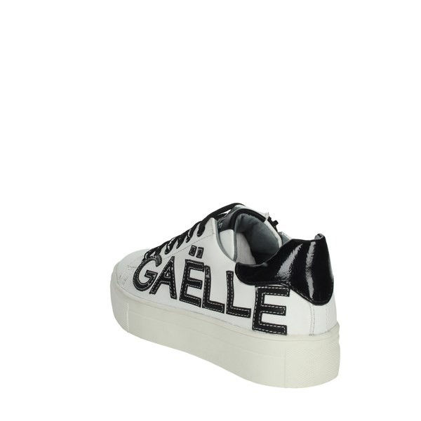 Gaelle Paris Shoes Sneakers White/Black G-410