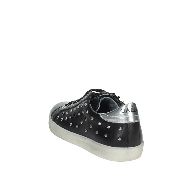 Gaelle Paris Shoes Sneakers Black G-431